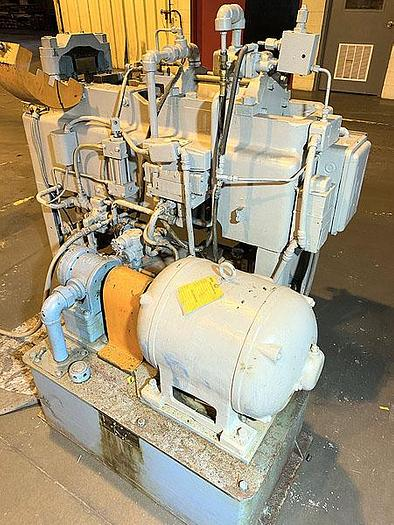 1953 Vaill #7 Hydraulic Tube End Forming Machine