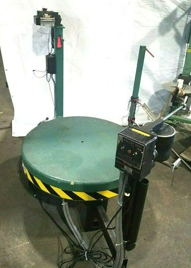Used PA Motorized Stock Decoiler payoff with Material Straightener for Stamping Press