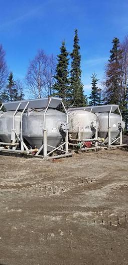 Used Oil field Offshore Cement Silo