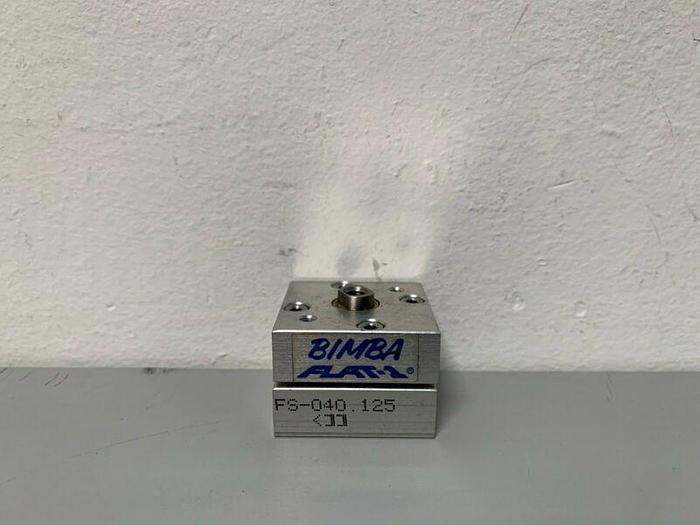 Used Bimba FS-040.125 Miniature Pneumatic Cylinder