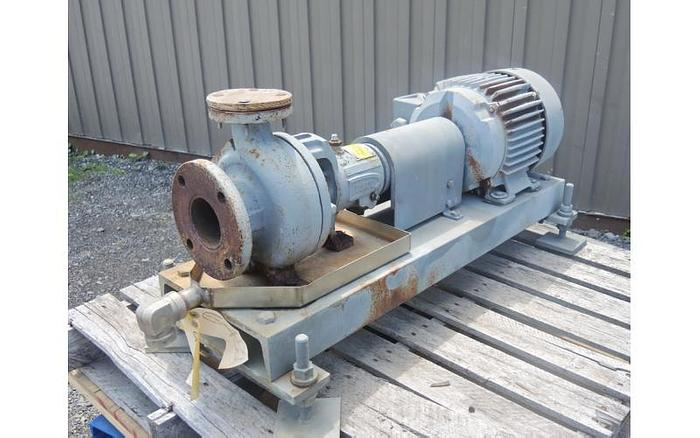 """USED CENTRIFUGAL PUMP, 3"""" X 1.5"""" INLET & OUTLET, D.C.I."""