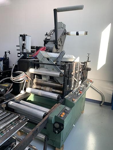 """Used 18"""" COMCO SHEETER & DIE CUTTER"""