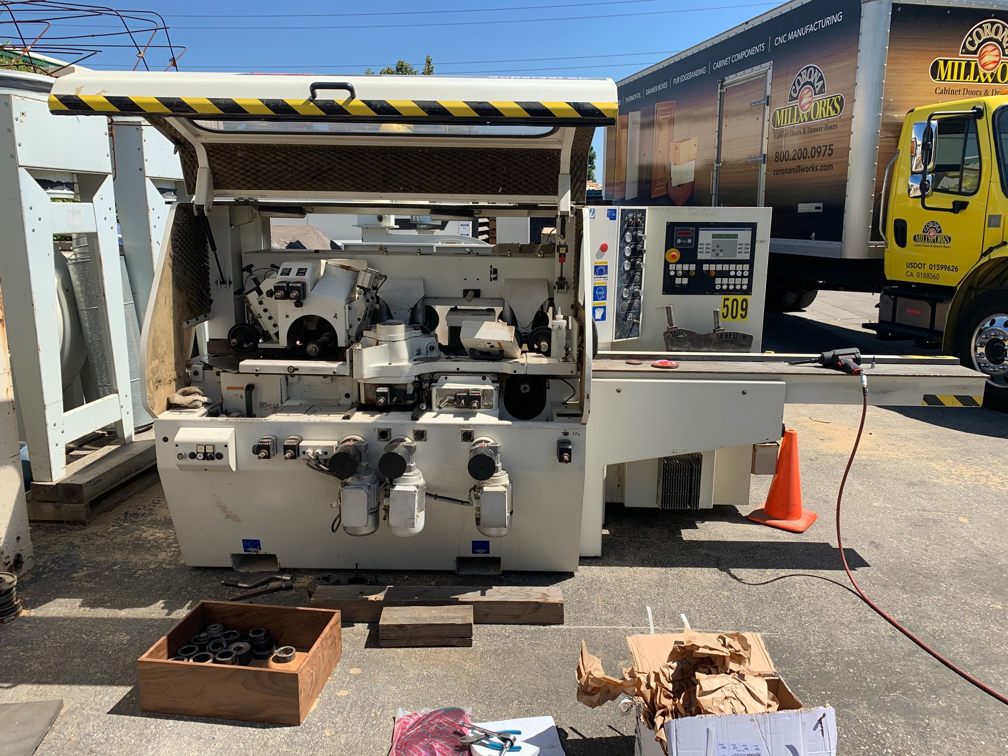 Used 2004 SCMI Superset XL
