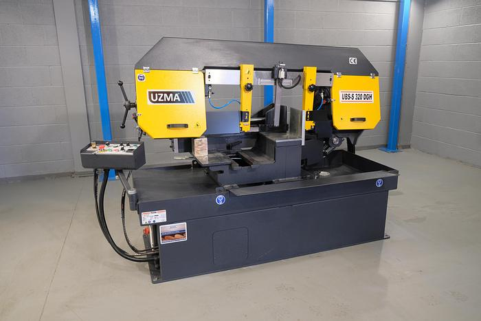 UZMA 320DGH Bandsaw Machine double Mitre Semi Automatic