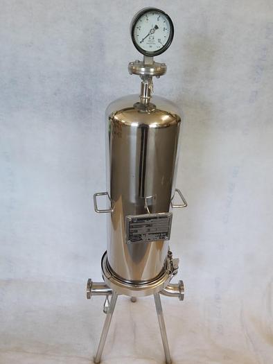Gebraucht Durchlauffilter, Membranfiltergehäuse, MSS 5010 GNW 50BH4, Pall, Edelstahl, gebraucht-Top