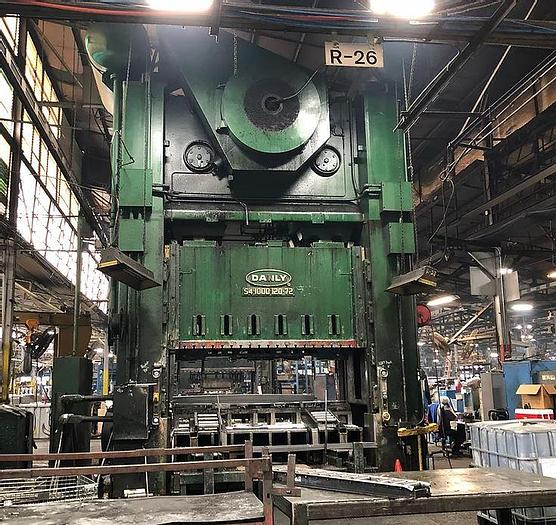 """Used 1000 ton Danly 120""""x72"""" SSDC Press"""
