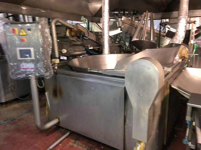Used TJF POTATO FRY LINE - SOLD