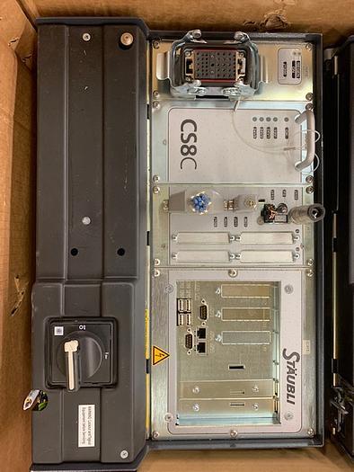 2010 STAUBLI TX40 ROBOT WITH SCHUNK GRIPPER AND CS8C CONTROLLER
