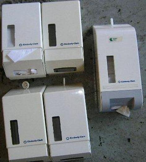 Used KIMBERLY-CLARK paper serviet holder