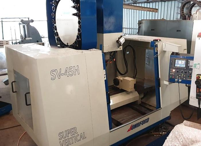Johnford SV-45H Vertical Machining Center
