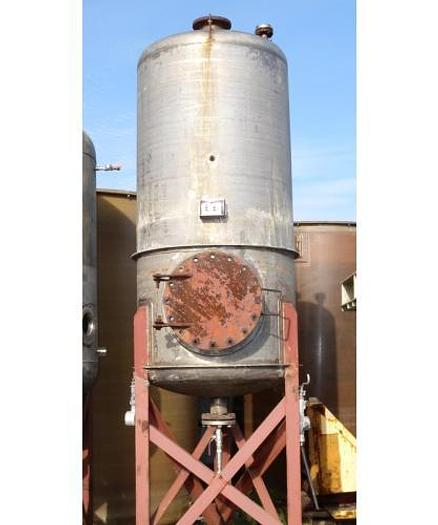 USED 600 GALLON TANK (VESSEL), 304 STAINLESS STEEL