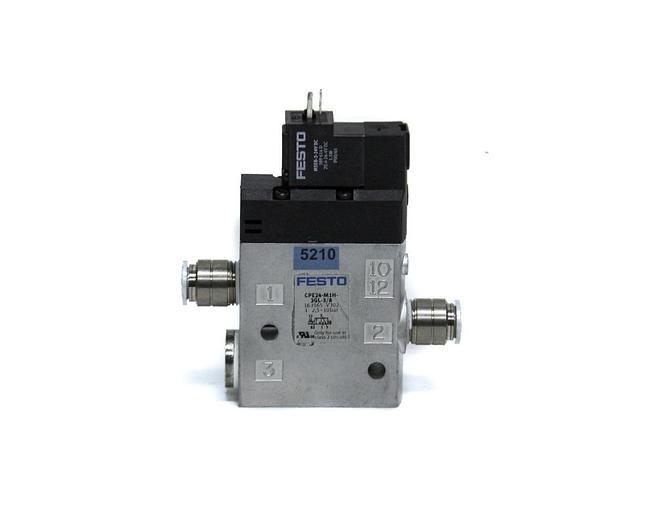 Used Festo CPE24-M1H-3GL-3/8 Solenoid Valve (5210) 628243307801