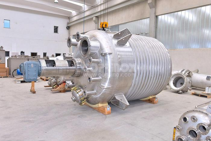Reattore COPRINOX da 12500 Litri