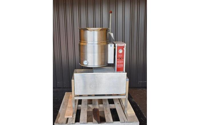 USED 10 GALLON TANK (KETTLE), STAINLESS STEEL, VULCAN VEC-10TW