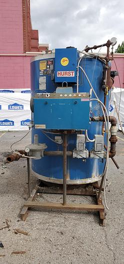Used 1999 Hurst 150 PSI Steam Boiler  80 HP