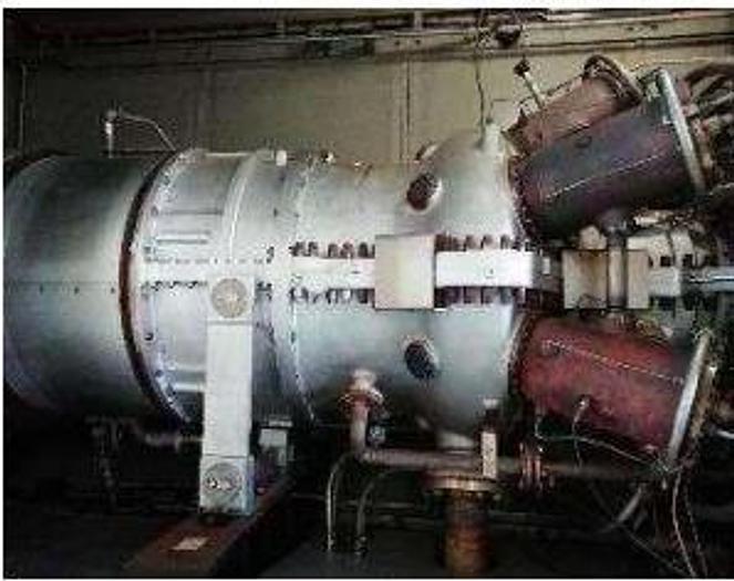 Used 7.5 MW 2011 Used Kawasaki M7A-03D Gas Turbine Generator