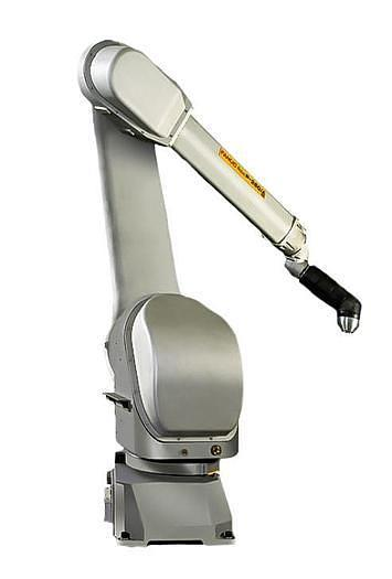 Used FANUC P-250iB/15 PAINT ROBOT WITH R30iB CONTROLLER 2800 MM X 15KG