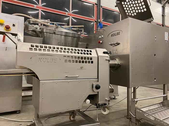 Used Kolbe MW100 mixer grinder with PM150