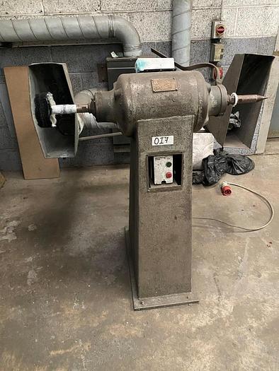 Used Canning 1531 Double Ended Polishing Machine