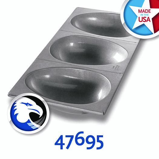 LARGE EASTER EGG/FOOTBALL CAKE PAN