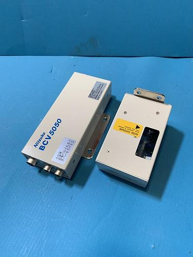 Used Nitsuko bar code scanner bcr 2600 plus power supply bcv5050
