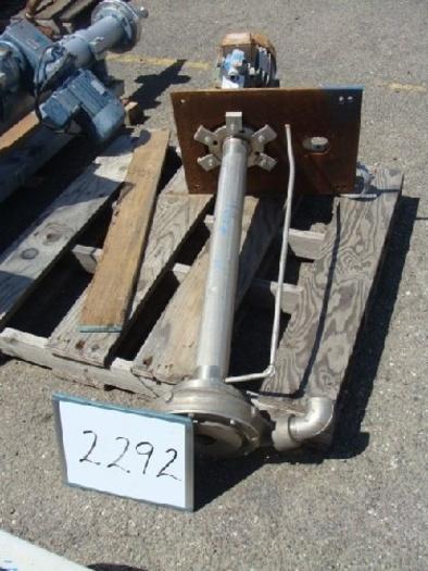 Krogh Stainless Steel Sump Pump #2292