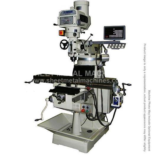 U.S. INDUSTRIAL Manual Variable Speed Milling Machine Package 2VH-3-KIT