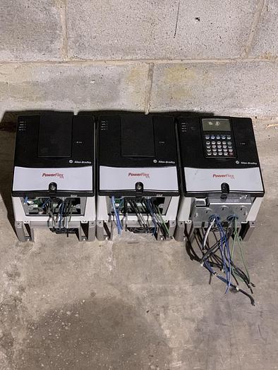 Used ALLEN BRADLEY POWERFLEX 70 DRIVE 3HP