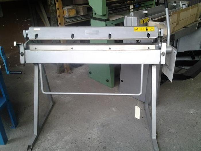 Piegatrice manuale art.775 mm.1000x1,2
