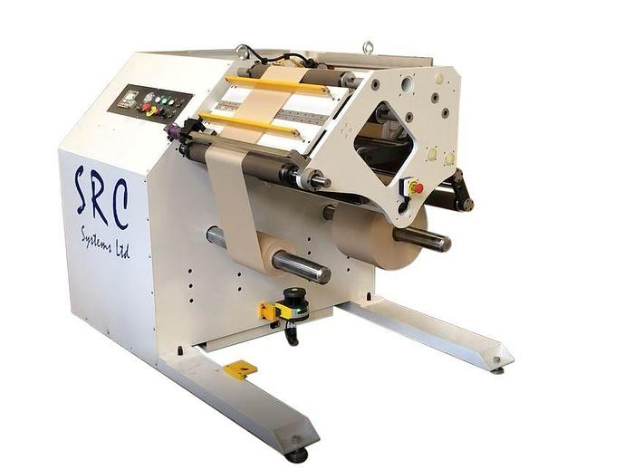 """Used 24"""" (600MM) NEW SRC SYSTEMS 606 DOCTOR REVERSABLE SLITTER REWINDER"""