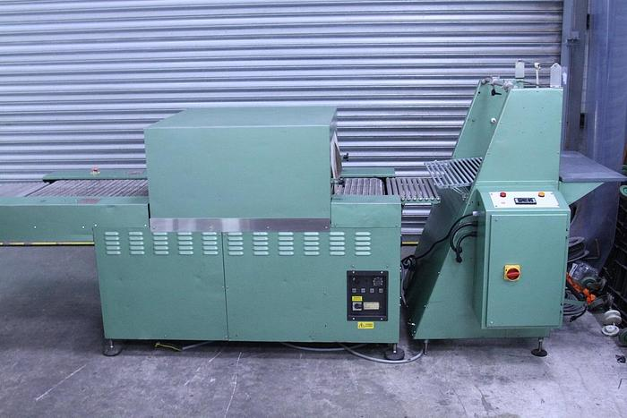 Used YPS Sleeve Sealer and Heat Tunnel Shrink Wrap Machine