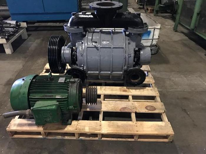 Used NASH CL1001 VACUUM PUMP  40HP MOTOR