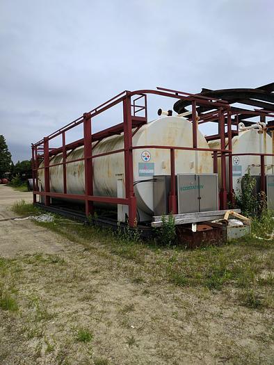 17,000 Gallon Double Wall Diesel fuel tank fireguard