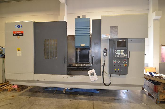 Used MV39  Mazak Mazak VTC  200 C