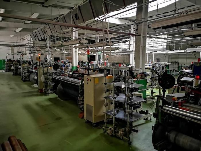 Used PICANOL  air jet weaving loom