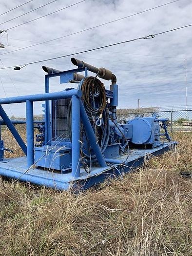 Used JWS International - TRIPLEX PUMP