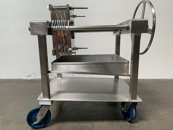 Used Ertel Alsop  ST-160 All Stainless Steel EUS 16″ Plate and Frame Filter Press