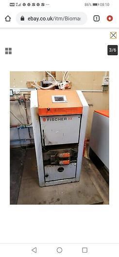 Used Biomass boiler