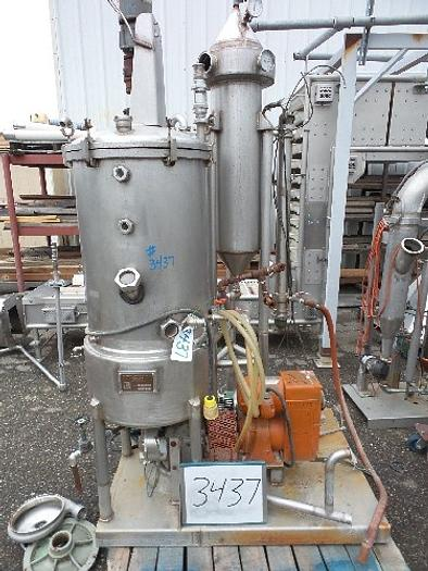 Used Enterprise Mfg. Lab Evaporator Model J1596-9-84