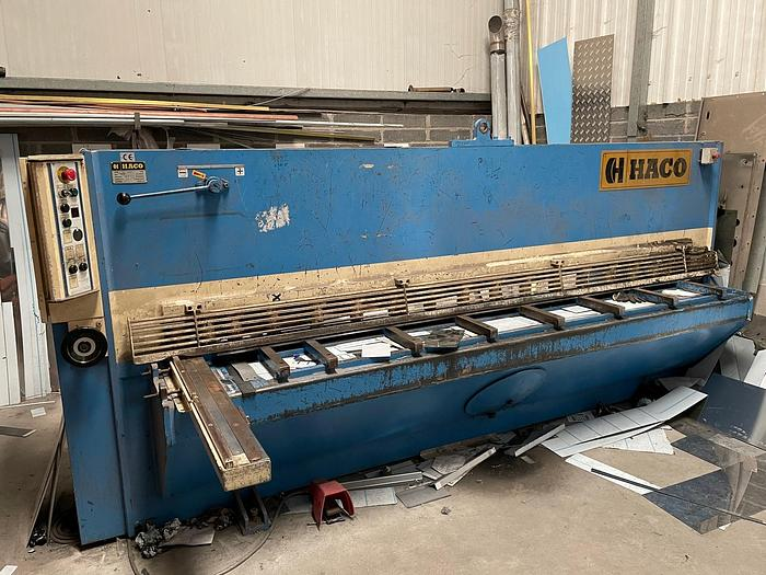 Used 1998 Haco TS 3006 3000mm x 6mm Hydraulic Guillotine