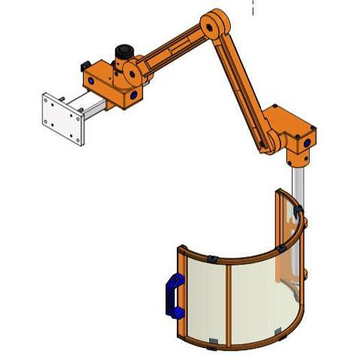 450mm Diamter Chuck Guard Model FB