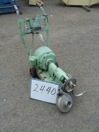 SP216-SD Tri-Clover 2 1/2'' x 2'' Centrifugal Pump #2440