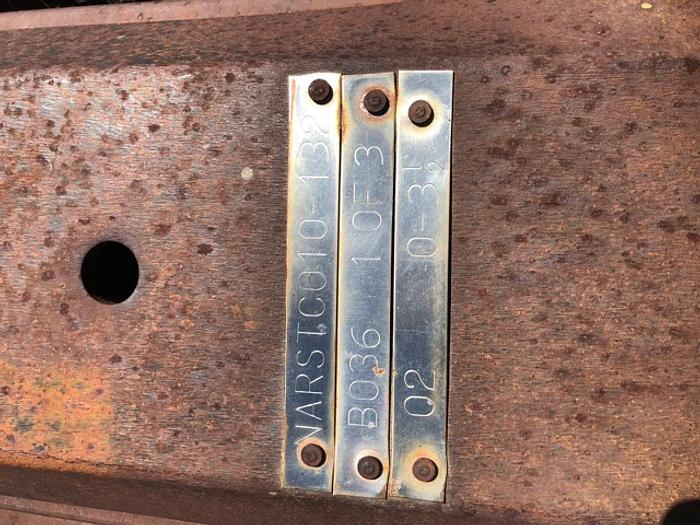 rail turnouts for 132 lb rail  B036 02. 0-3 1/2