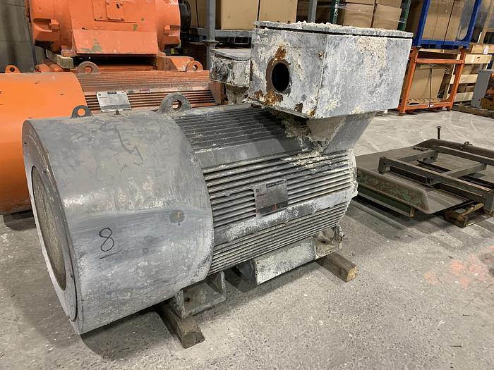 Used GENERAL ELECTRIC MOTOR 500HP 890 RPM