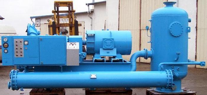 Używane Chłodnicze agregaty sprężarkowe śrubowe firmy STAL