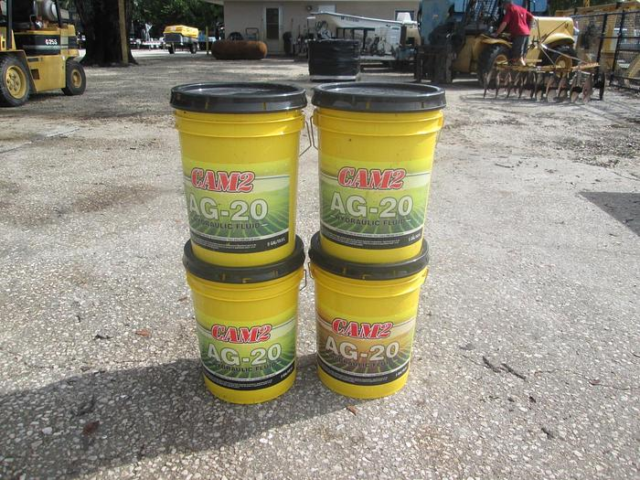Used CAM2 Tractor Hydraulic Fluid 5 Gallons AG-20