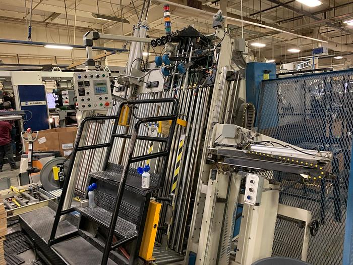 Used Civiemme Automatic Vertical Log Stacker