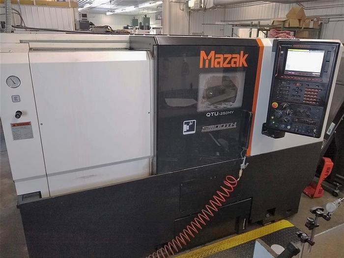 Used 2018 Mazak Quick Turn Universal 250MY