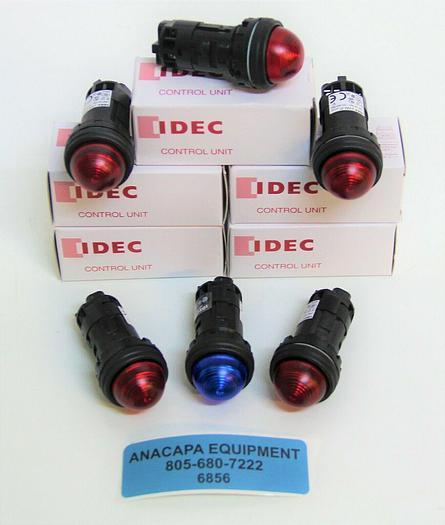 IDEC Control Unit HW1P-2FQD-S-24V HW1P-2FQD-R-24V Lot of 10 NEW (6856)Z