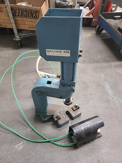 Used Hugold Air Press Stamping Assembly Press Pneumatic in perfect condition